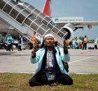 Kloter Pertama Jamaah Haji Medan Tiba Dengan Selamat