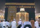 Sholat 2 rakaat dibelakang Makam Ibrahim