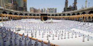 Sholat di Masjidil Haram dimasa Pandemi